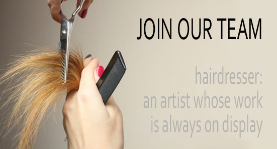 Hairstylist positions and station are open